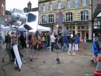 Filming in Horsham