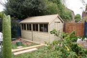 New shed!